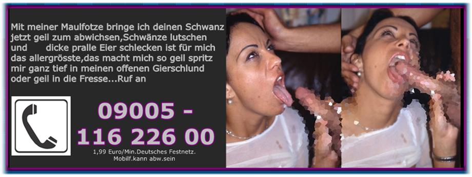 telefonsex wie spontaner blowjob